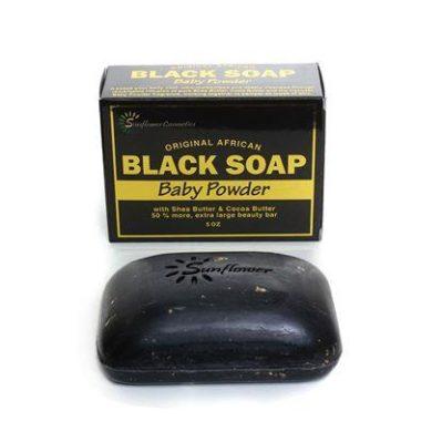 Black Soap Baby Powder